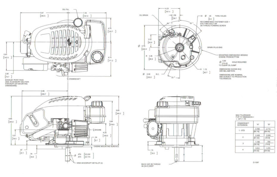 Line drawing for Tecumseh OVRM105