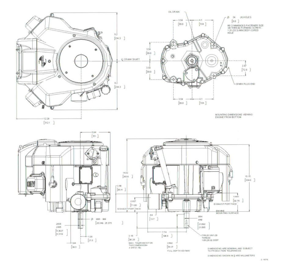 Line drawing for Tecumseh TVT691