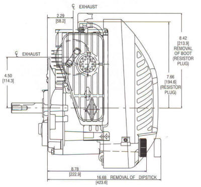 10A900 Series Line Drawing mounting