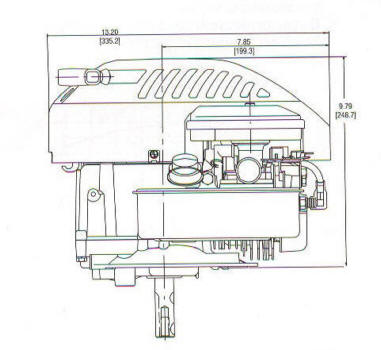 10G900 Series Line Drawing