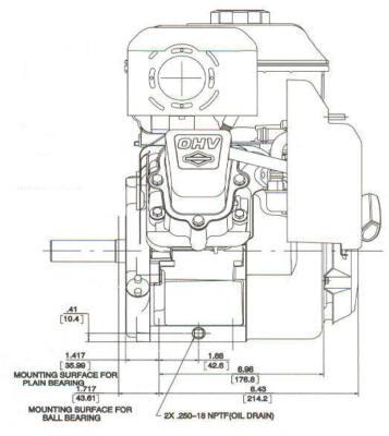 121400 Series Line Drawing