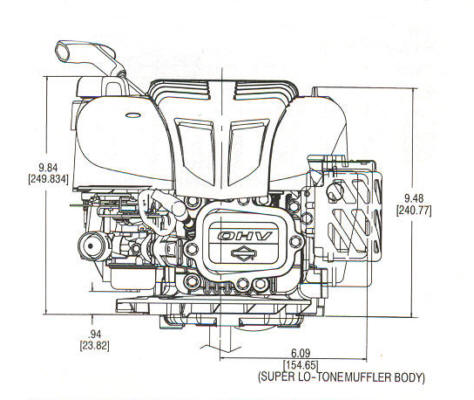 122600 Series Line Drawing mounting