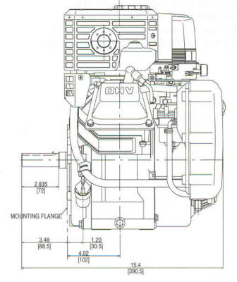 Small Engine Suppliers - Briggs & Stratton 9 HP VANGUARD