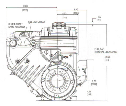 20D400 Series Line Drawing mounting
