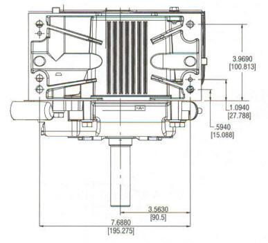 20F400 Series Line Drawing