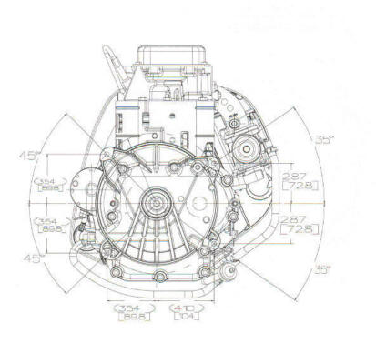 212700 Series Line Drawing mounting