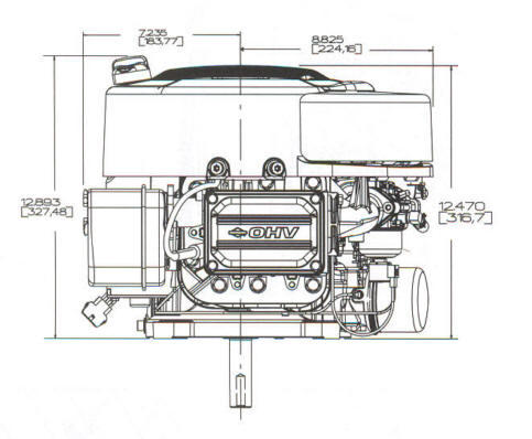 28CH00 Series Line Drawing