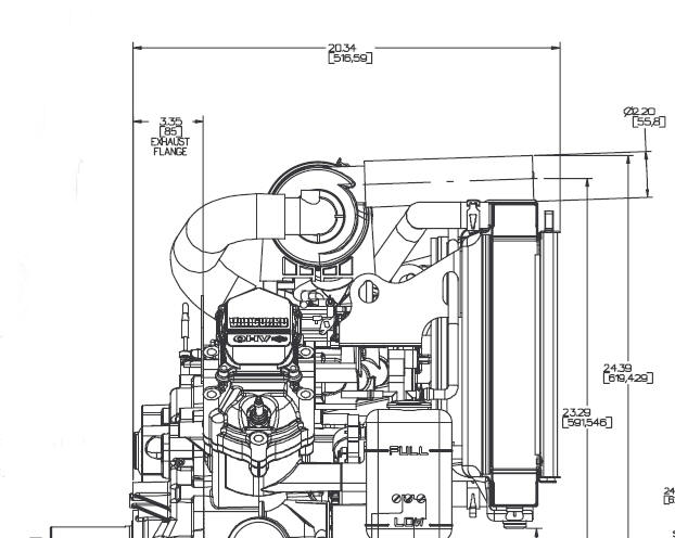 2LC-Gas Line Drawing