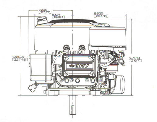 31G700 Series Line Drawing