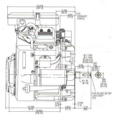 380700 Series Line Drawing mounting