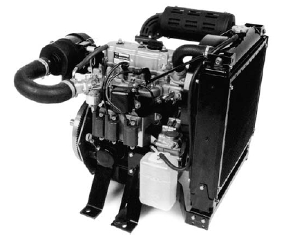 Vanguard 3LC-Gas Engine Specs
