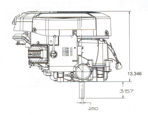 40H700 Series Line Drawing
