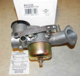 Briggs Stratton Carburetor Part No. 491026