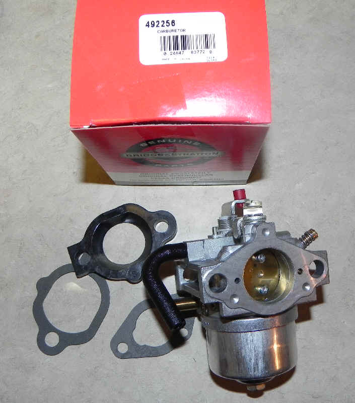 Briggs Stratton Carburetor Part No. 492256