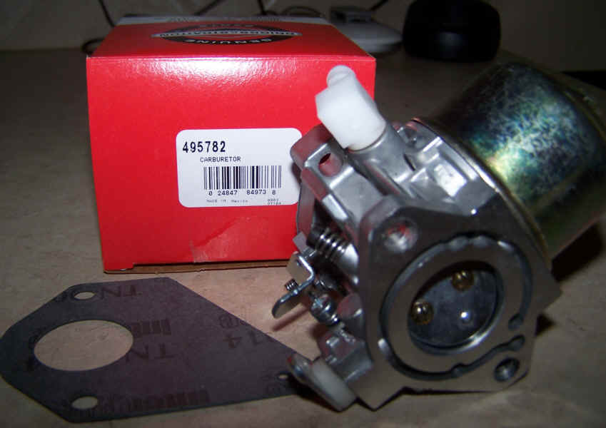 Briggs Stratton Carburetor Part No. 495782