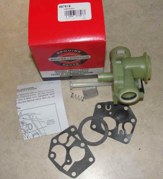 Briggs Stratton Carburetor Part No. 498809
