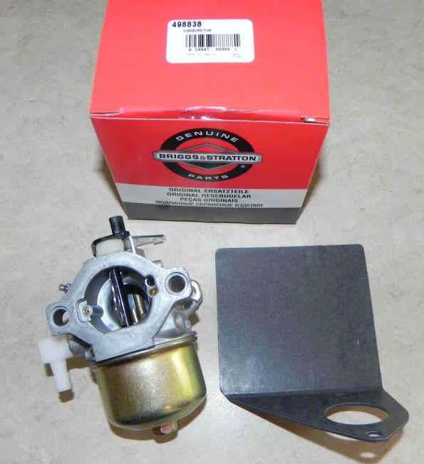 Briggs Stratton Carburetor Part No. 498838