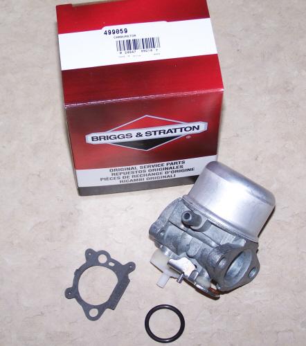 Briggs Stratton Carburetor Part No. 499059