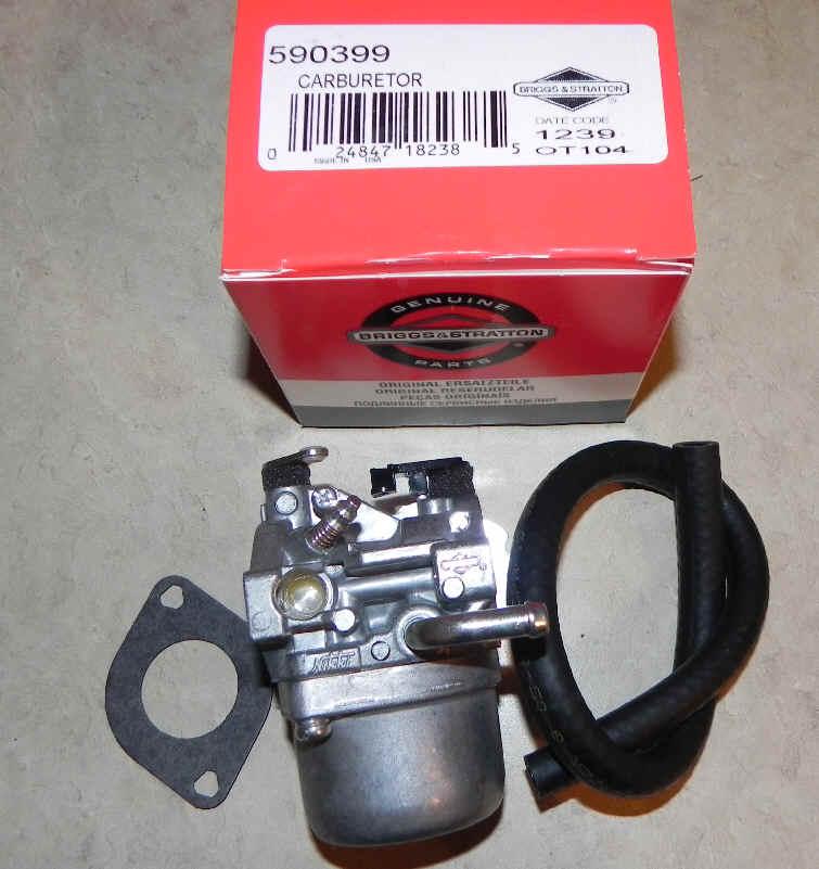 Briggs Stratton Carburetor Part No. 590399