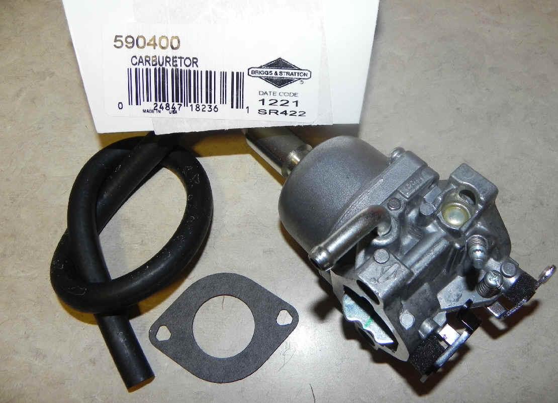 Briggs Stratton Carburetor Part No. 590400