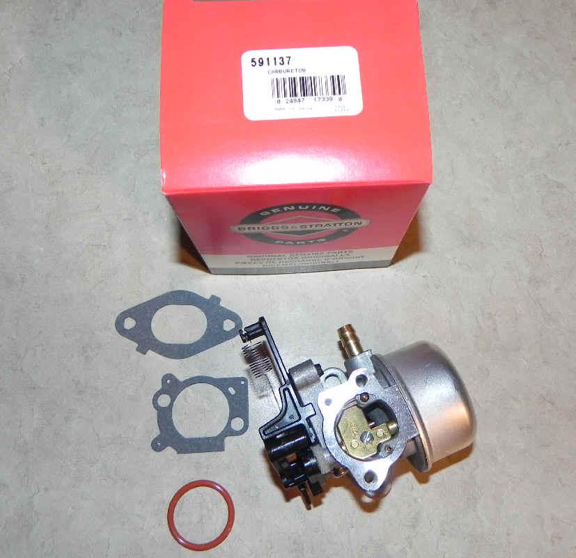 Briggs Stratton Carburetor Part No. 591137