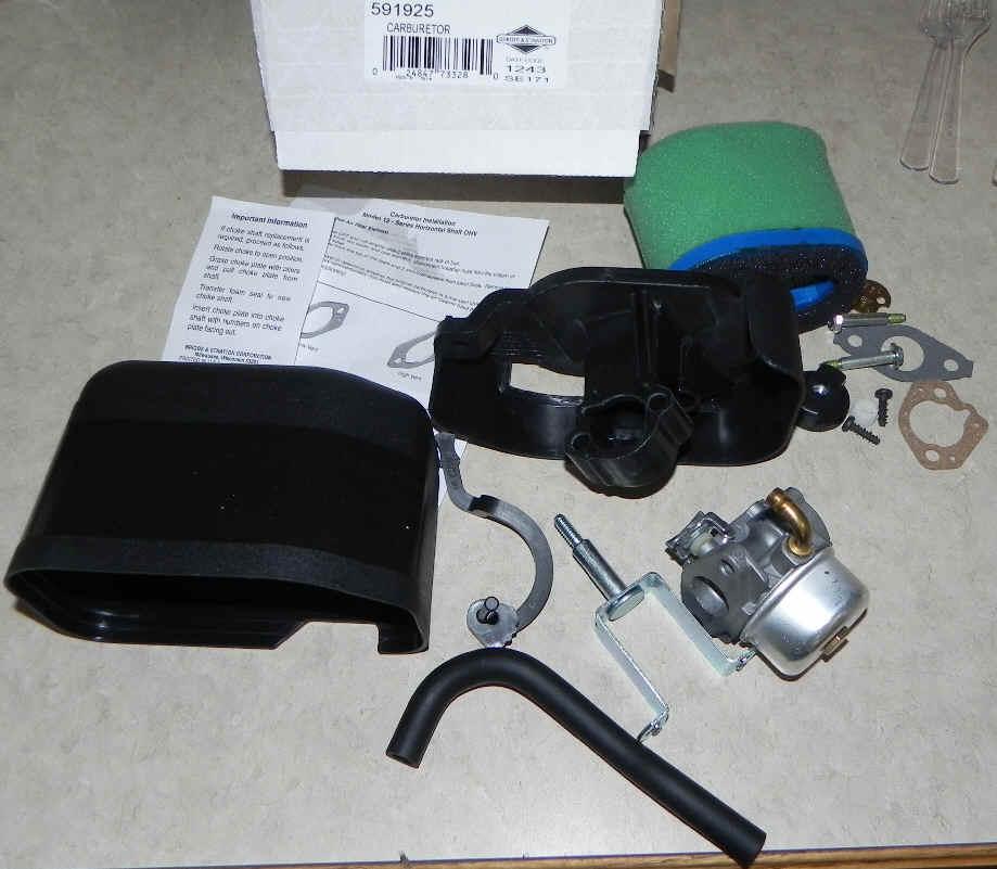 Briggs Stratton Carburetor Part No. 698475 NKA 591925