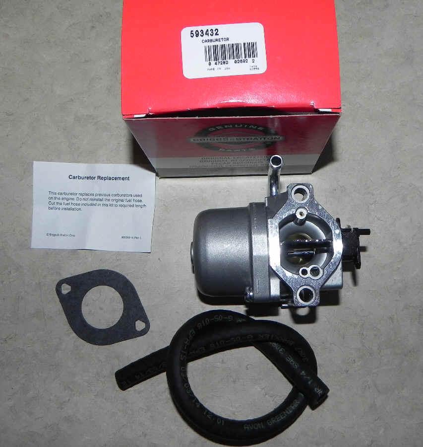 Briggs Stratton Carburetor Part No. 593432