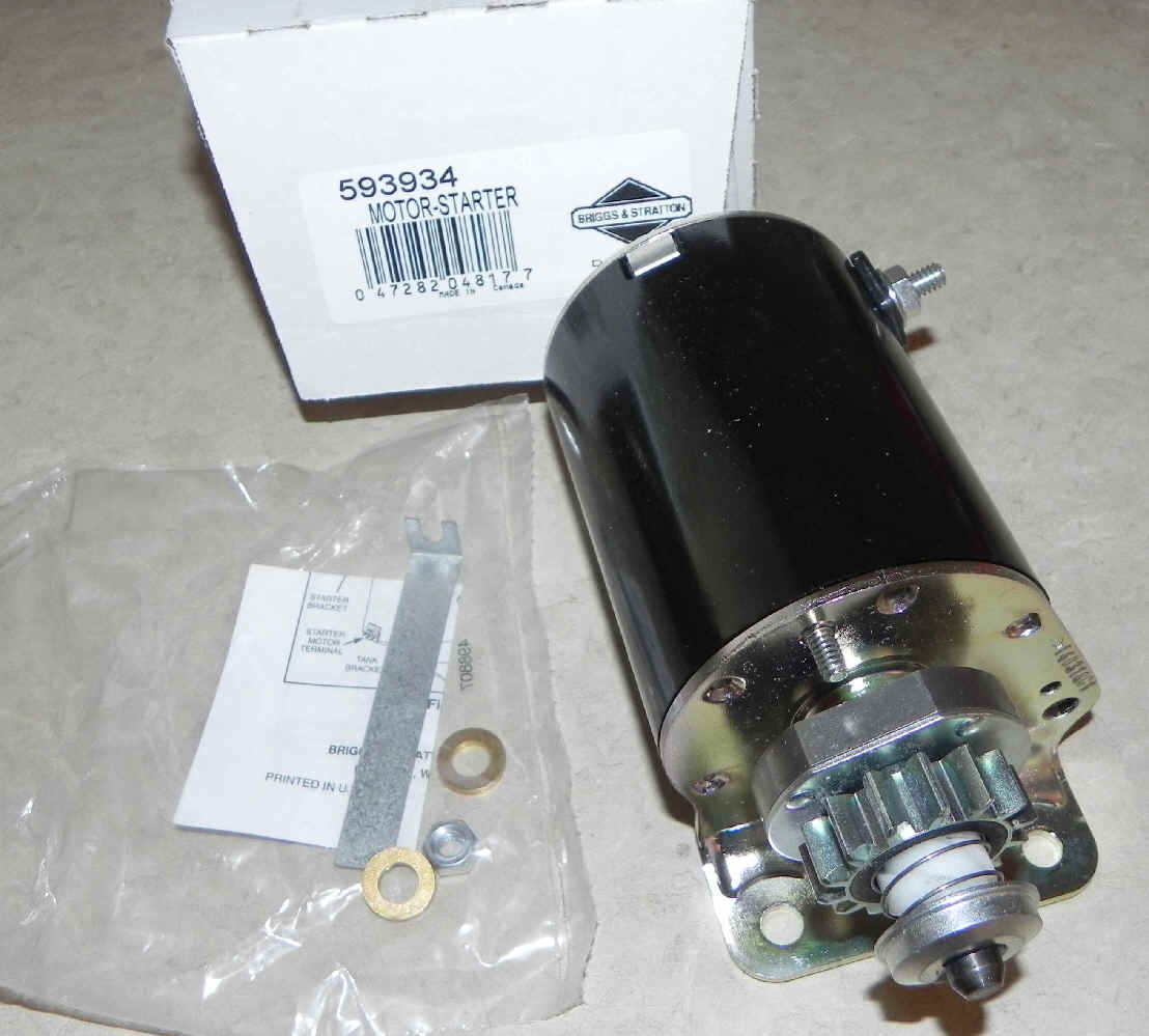 Briggs & Stratton Electric Starter Part No. 593934