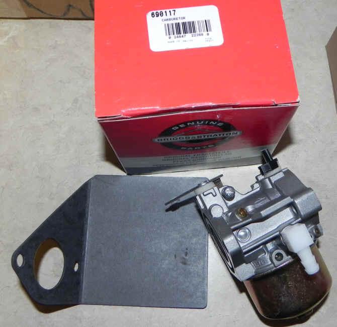 Briggs Stratton Carburetor Part No. 690117