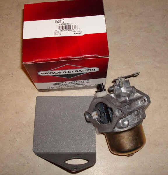 Briggs Stratton Carburetor Part No. 690119