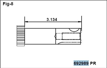 Briggs Stratton Crankshaft Part No. 796218