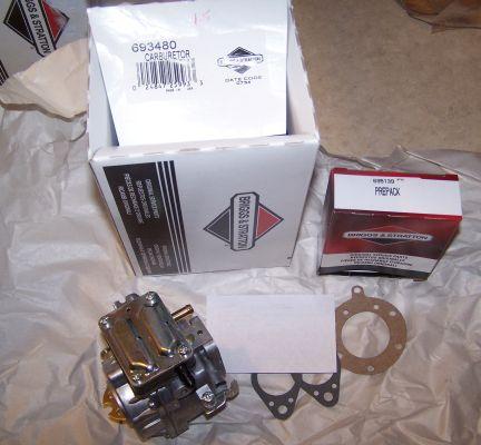 Briggs Stratton Carburetor Part No. 693480