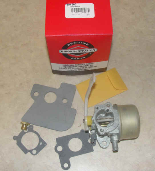 Briggs Stratton Carburetor Part No. 694203