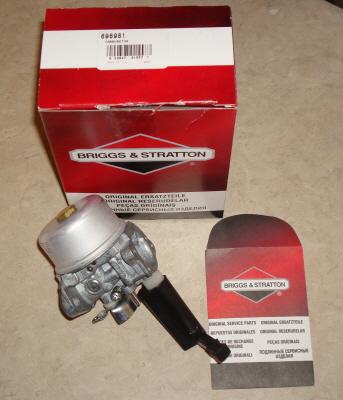 Briggs Stratton Carburetor Part No. 798653