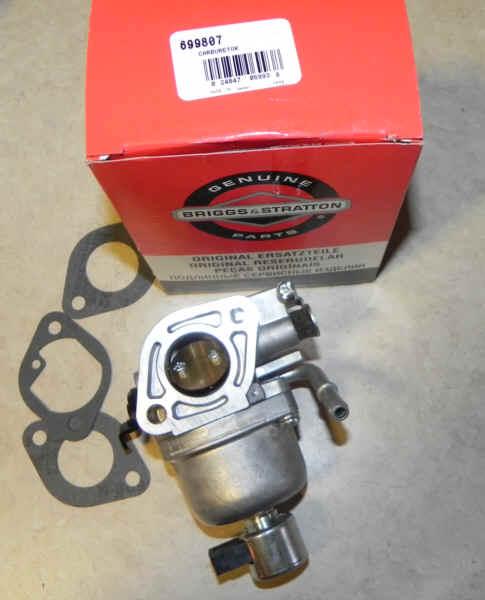 Briggs Stratton Carburetor Part No. 699807