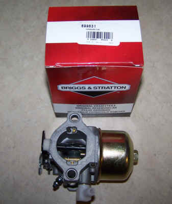 Briggs Stratton Carburetor Part No. 699831