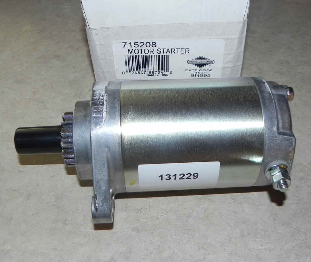 Briggs & Stratton Electric Starter Part No. 715208