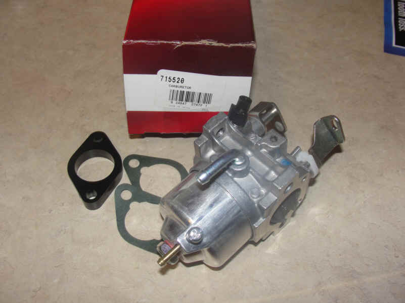 Briggs Stratton Carburetor Part No. 715520