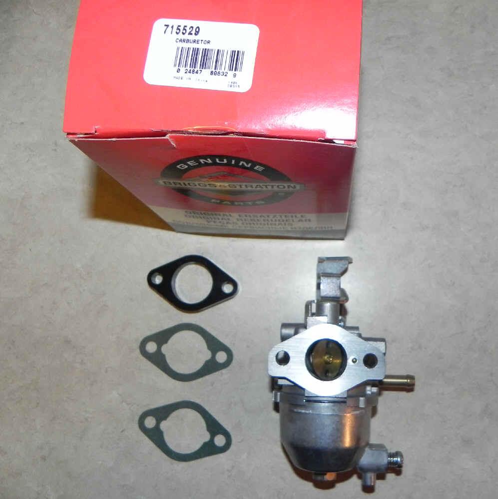 Briggs Stratton Carburetor Part No. 715529