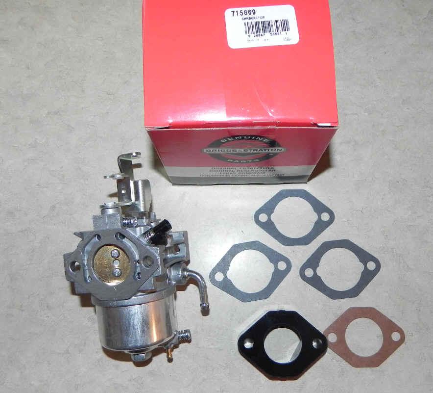 Briggs Stratton Carburetor Part No. 715669