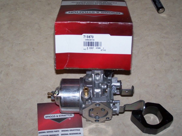 Briggs Stratton Carburetor Part No. 715670