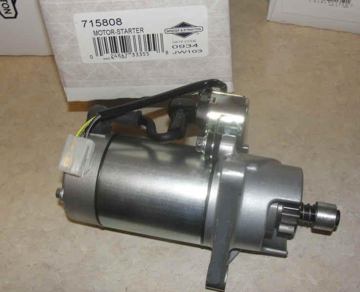 Briggs & Stratton Electric Starter Part No. 715808