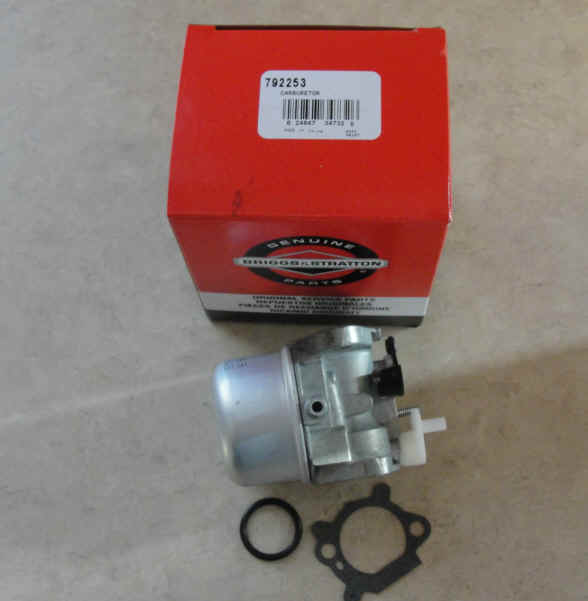 Briggs Stratton Carburetor Part No. 799869