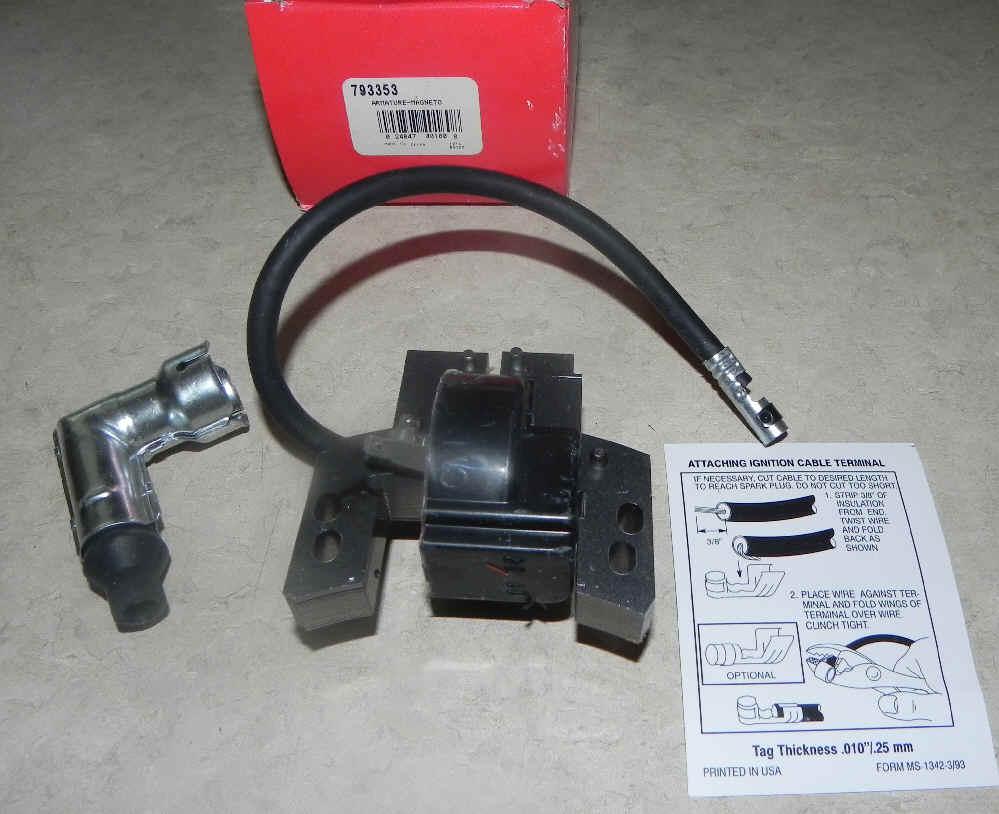 Briggs & Stratton Ignition Coil Part No. 793353