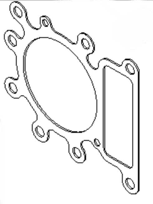 Briggs Stratton Head Gasket Part No. 794114