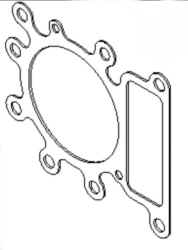 Briggs Stratton Head Gasket Part No. 794114