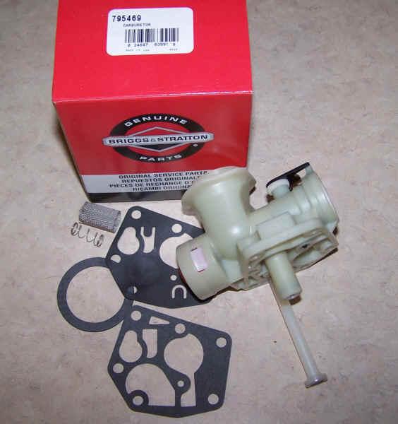 Briggs Stratton Carburetor Part No. 794147 NKA 795469 NKA 795477