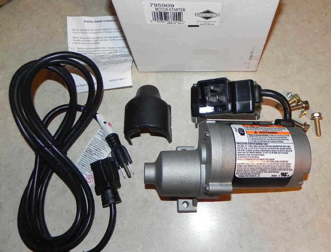 Briggs & Stratton Electric Starter Part No. 591036