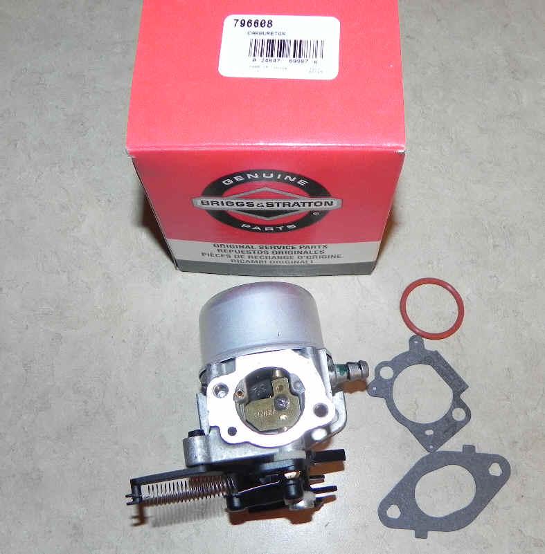 Briggs Stratton Carburetor Part No. 796608