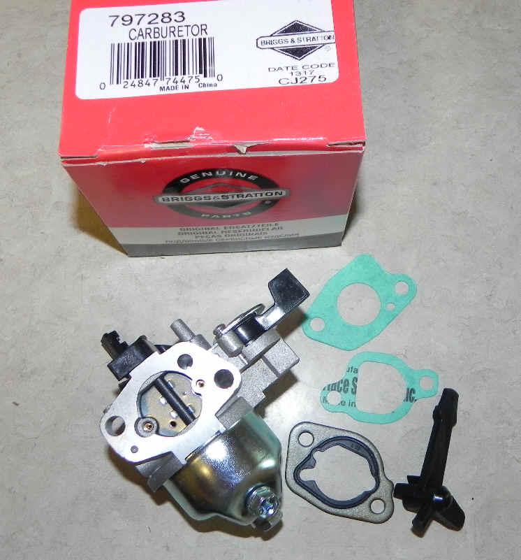 Briggs Stratton Carburetor Part No. 797283